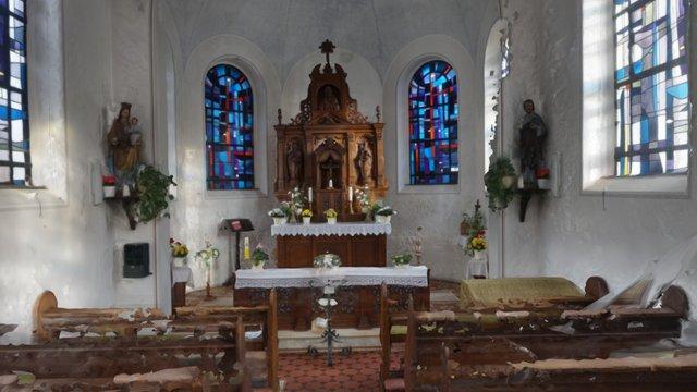 Kapelle im Rheinland 3D Model