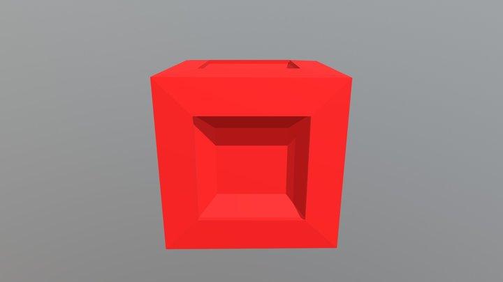 Jordan P Cube 3D Model