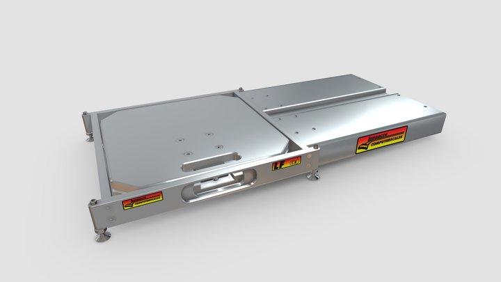 Billet Scale Pad Leveler 3D Model