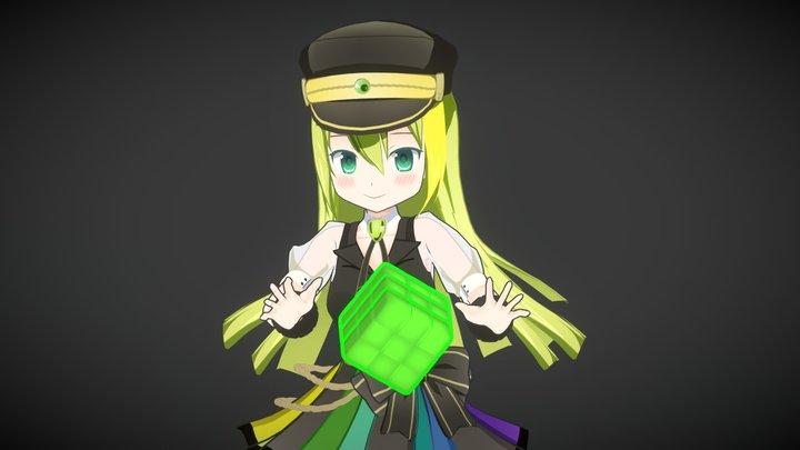 アリナ・グレイ 3D Model