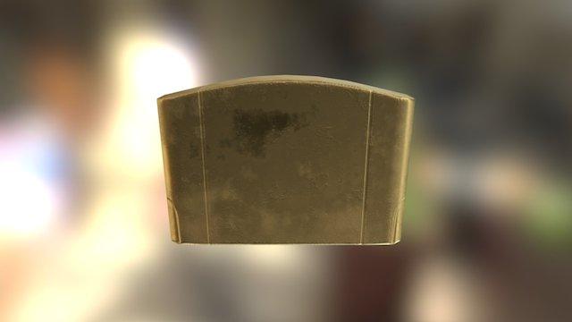 N64 Cartridge Material Test 3D Model