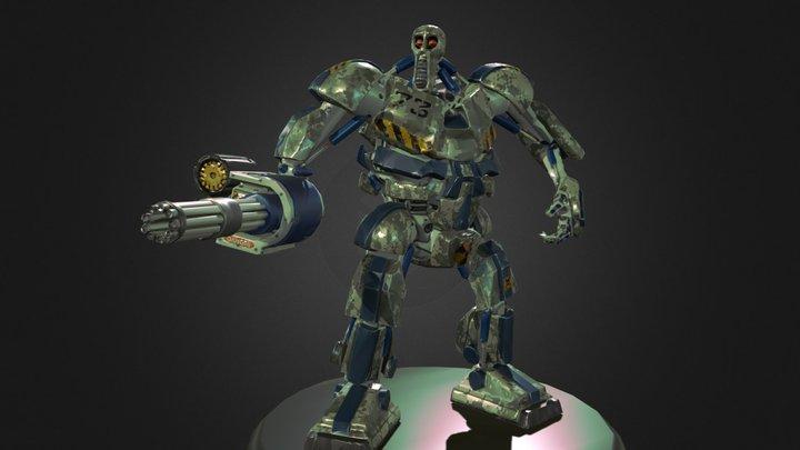 K-BOT 3D Model