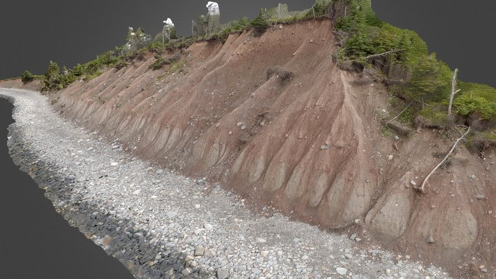 Glacial Till - West Lawrencetown NS part I 3D Model