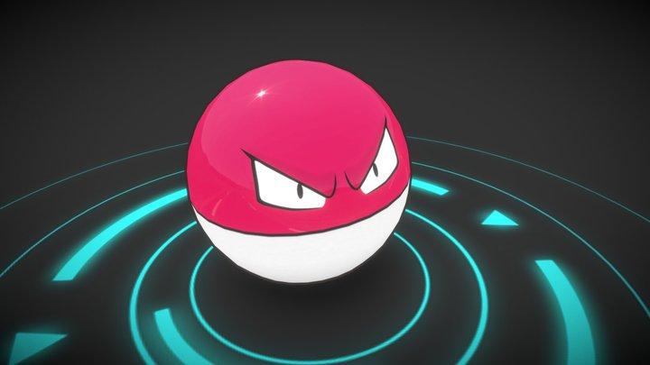 Voltorb     Animated 3D Model
