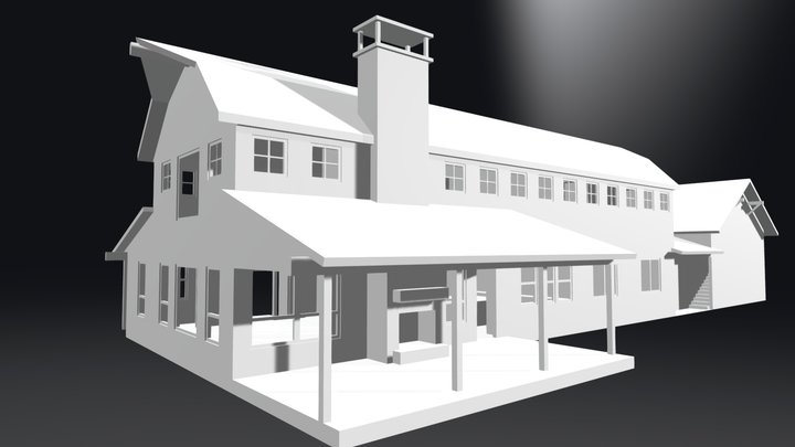 Wilson Creek Barn 3D Model
