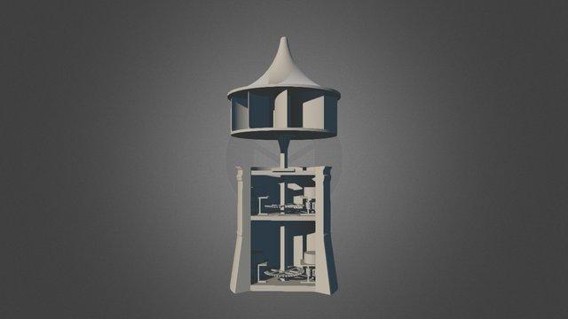 Faust Vrancic - Windmill 3D Model
