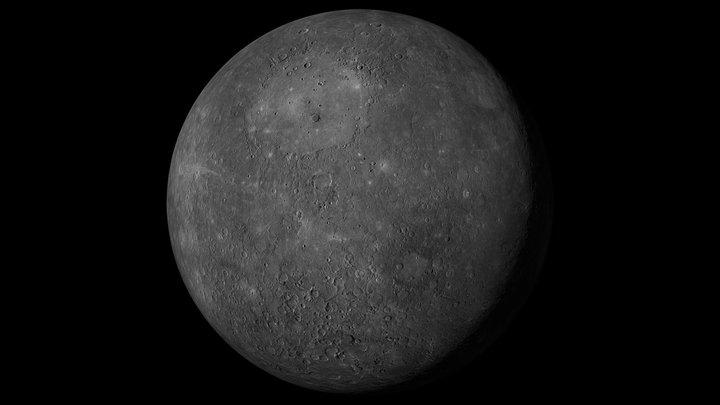 Mercury - 46k 3D Model