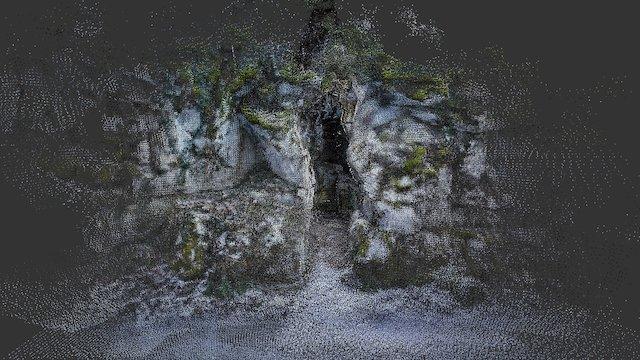 Small Cavern at Rakov Skocjan Natural Park 3D Model