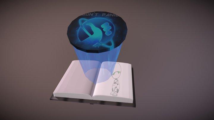 O Guia Do Mochileiro Da Galaxia 3D Model