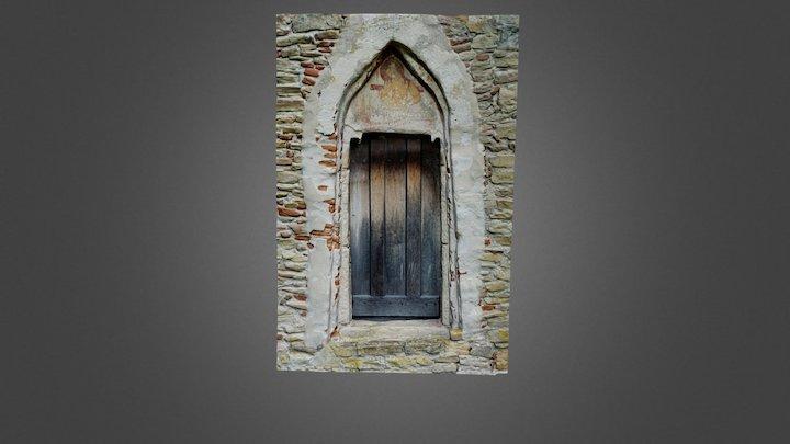 Biserica din Strei - portal 3D Model