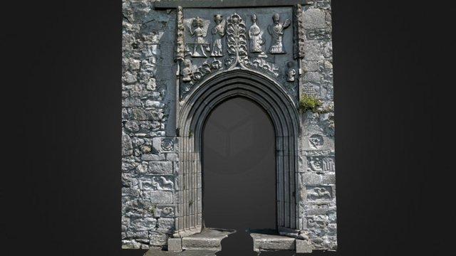 Clontuskert Doorway - 1 3D Model