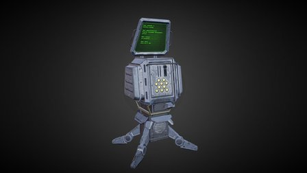 Scifi Asset 3D Model