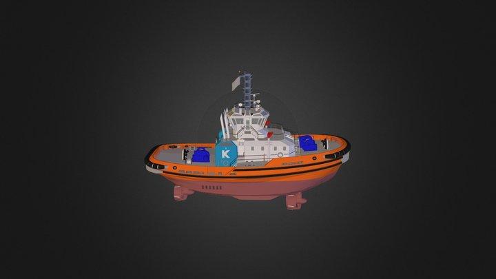 212-035 3 D General Arrangement 3-3 3D Model