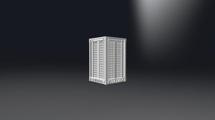 High Rise 1 3D Model