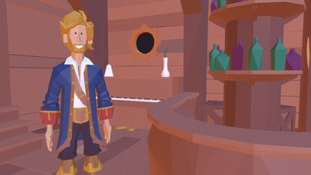 Guybrush Threepwood Low Poly 3D Model