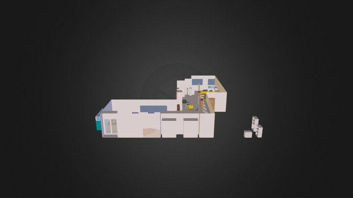 Office New Layout 3D Model