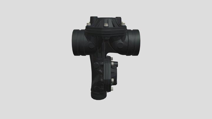 3x3x3 nylon filtro 3D Model