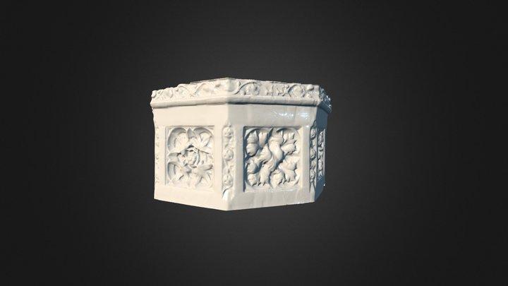 Final Church Detail 3D Model