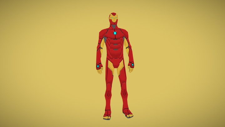 All-New, All-Different Invincible Iron Man 3D Model