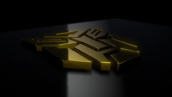 Autobot's Logo 3D Model