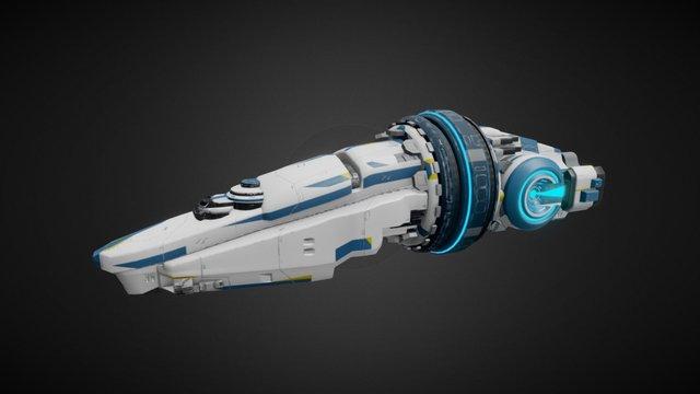 Arbiter Spaceship 3D Model