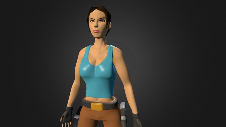 Lara Croft  3D Model