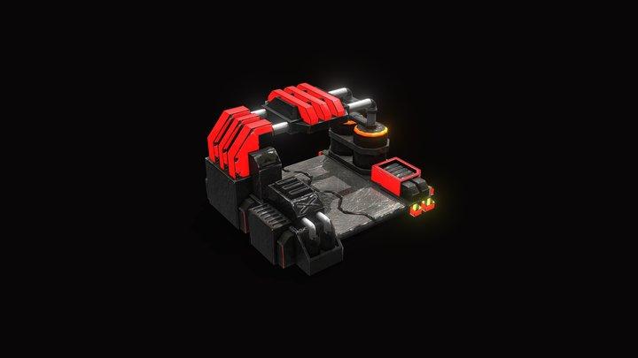 RED | Bot Lab 3D Model