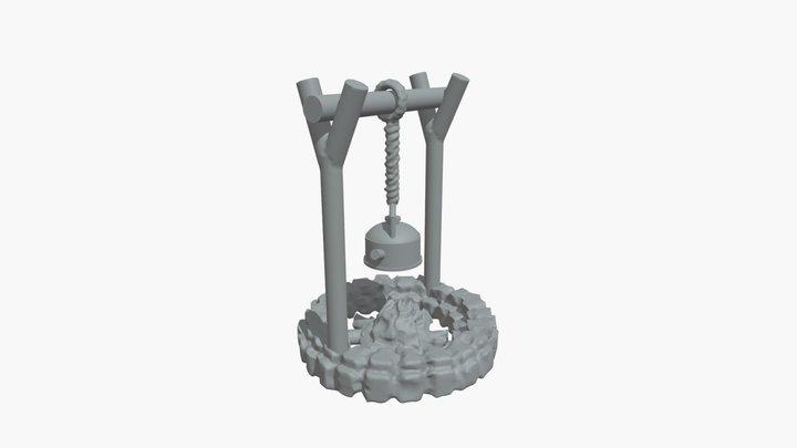 Feu De Camp 3D Model