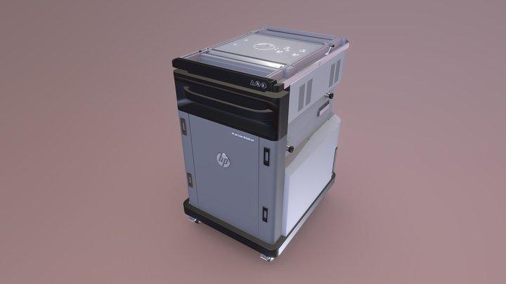 HP Jet Fusion - Build Unit 3D Model