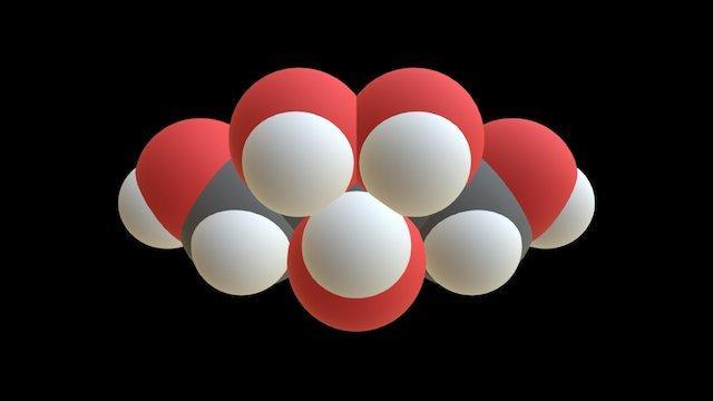 Xylitol 3D Model