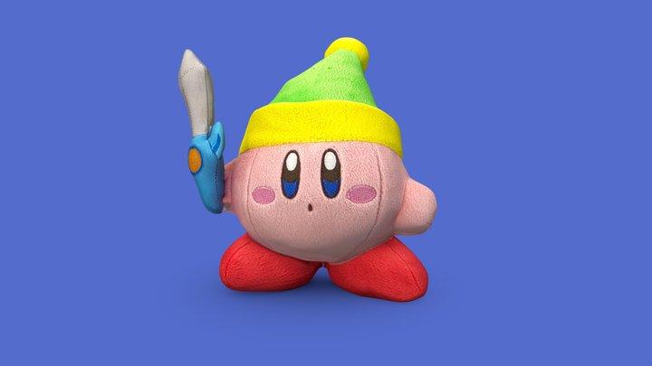 Kirby Plush 3D Model