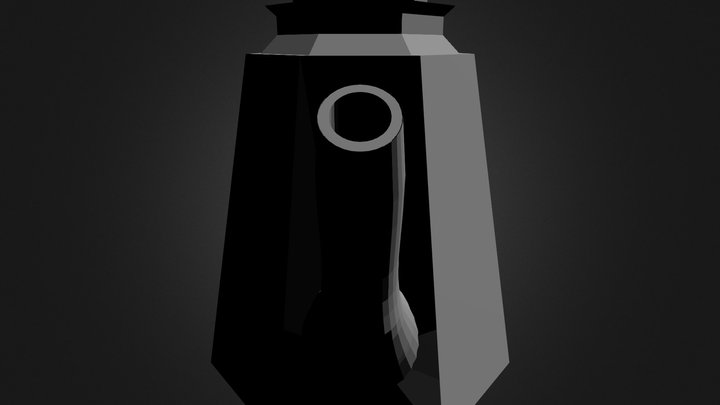 Salt Shaker Hollow Everything 3D Model
