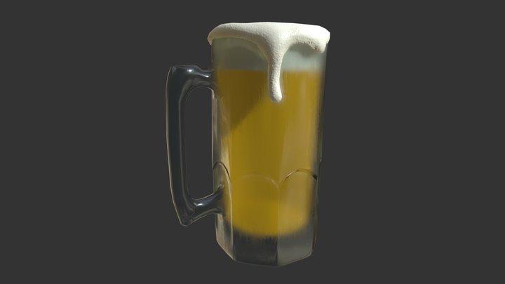 Chilled Mug o' Beer 3D Model