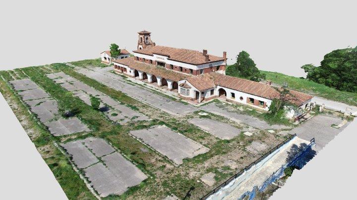 Estación Ferrocarril Caminreal 3D Model