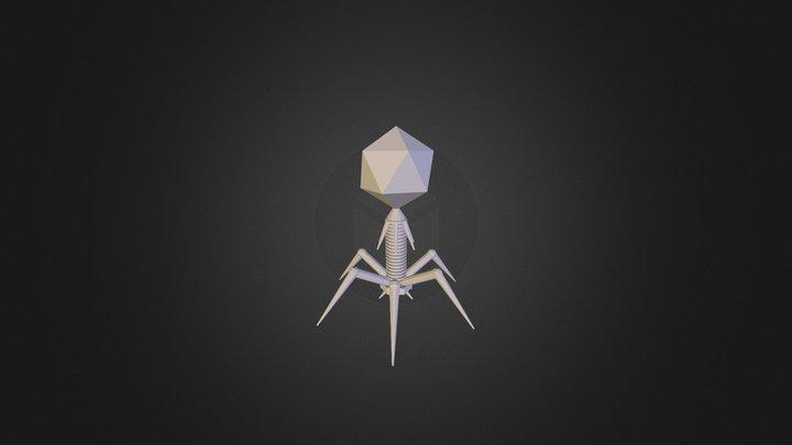 Bacteriophage_T7 3D Model
