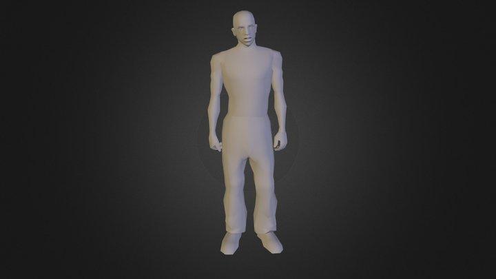 cj gta san andreas 3D Model