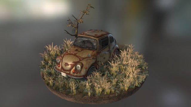 Subaru360 3D Model