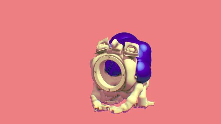 Bellowing Boy 3D Model
