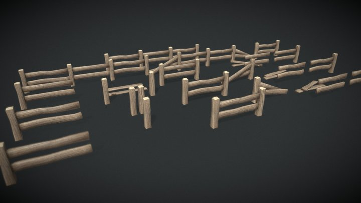 Fences Pack [FREE] | Agustin Honnun 3D Model