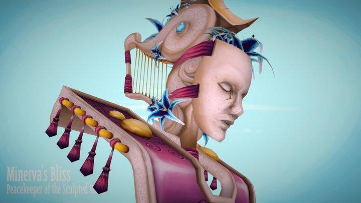 Minerva's Bliss, Peacekeeper 3D Model