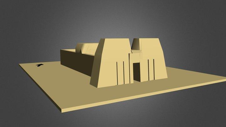Edfu 3D Model