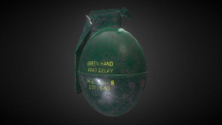 M61 Grenade 3D Model