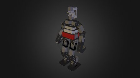 HR-OS5 Humanoid Research Robot - Endo v1.0 3D Model