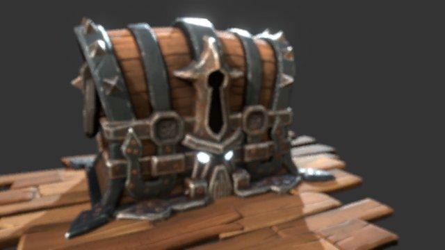 Treasure of The Kraken 3D Model