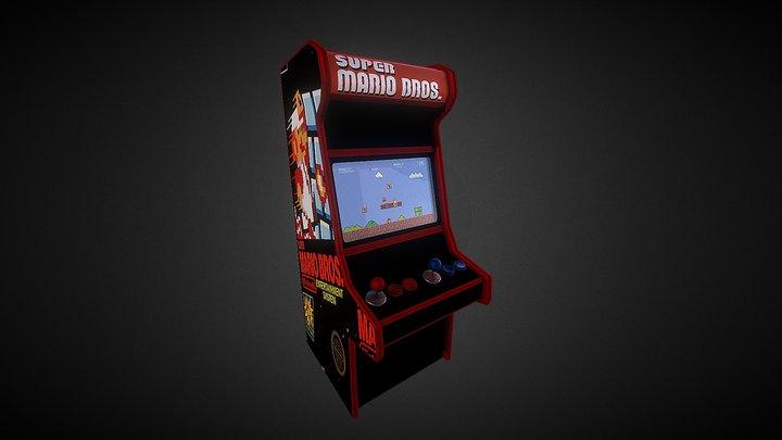 Super Mario Bros Arcade 3D Model