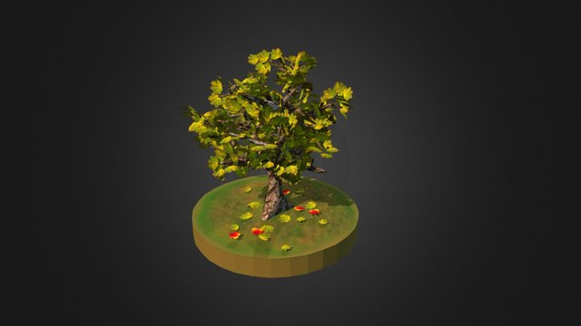 The Beginning of Fall 3D Model