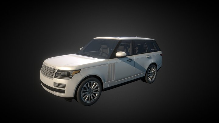 2013 Range Rover L405 Vogue US-Version 3D Model