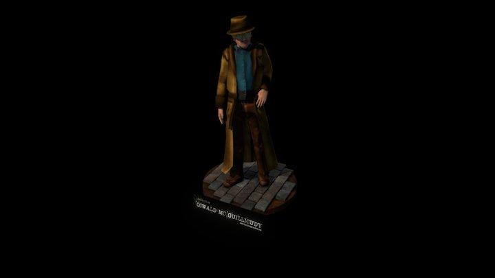 Detective Oswald Mc Guillicudy 3D Model