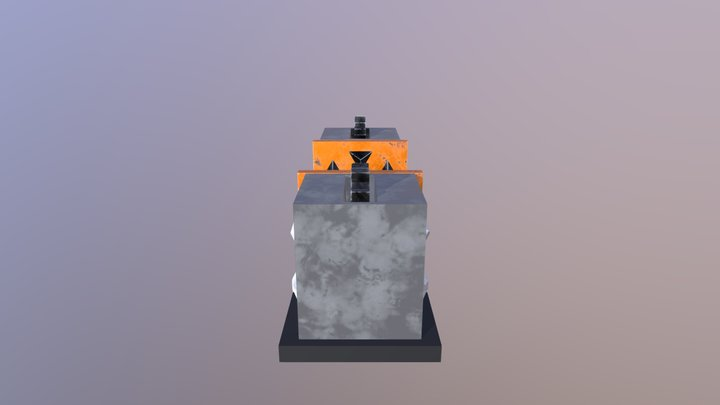 Game Asset Death Press 3D Model