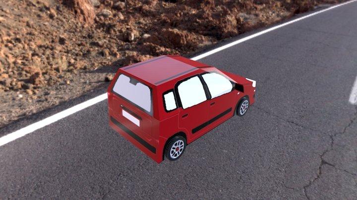 Fiat-Nuova-panda 3D Model